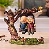 Decoresd Soggiorno Arredo Casa Mobile TV Felice Decorazione Marito Tsai Doll Piccole Decorazioni Creative Regalo di Nozze Swing,L'Amore