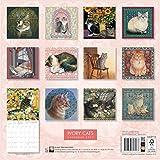 Image de Ivory Cats wall calendar 2017 (Art calendar)