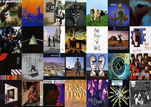 """Pink Floyd-2 Album fotografico grande in metallo, motivo: Rock Music Band, Best per foto con stampa A3 """"unico"""