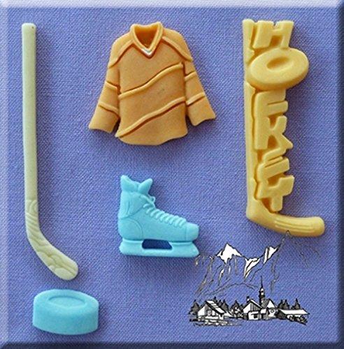 chen dekorieren Form für Cupcakes oder Fimo Ton durch Backen & erstellen (Eishockey Kuchen)