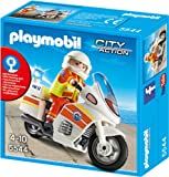 PLAYMOBIL 5544 - Notarzt-Motorrad mit Blinklicht -