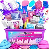 Original Stationery Kit Completo per Slime Unicorno – Laboratorio Slime per Bambine (Tutto Incluso) – Fabbrica dello...