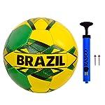 RASCO Brazil Street Football Size 5 with AIR Pump