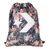 Converse Unisex Turnbeutel Sport Freizeit Tasche Gym Bag Cinch Pale Coral / Barely Orange / Navy