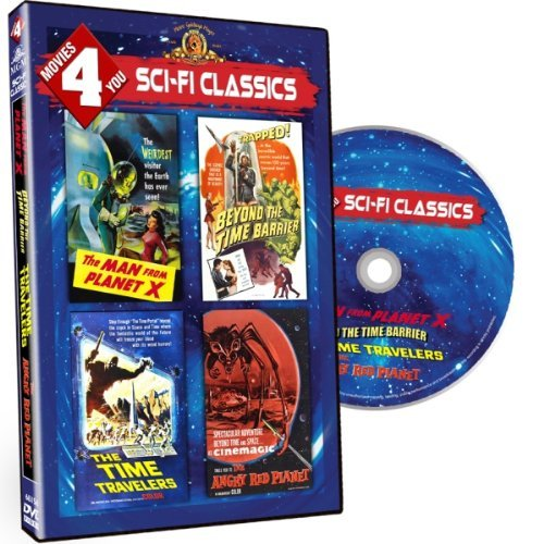 Movies 4 You - Sci Fi Classics (The Man from Planet X / Beyond the Time Barrier / The Time Travelers / The Angry Red Planet) by Robert Clarke