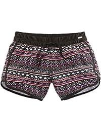 lascana Pantalones Cortos Black de Multi, black-multi, 36