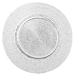 Platzteller Padua klar aus Glas Ø=32 cm - 6 Stück