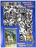 Terciopelo color de 37 x 28 cm 'Lobo' Sistema de colorear Dibujo (mediana, Multi-Color)