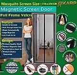 Mosquito Door Net/Curtain - Mag netic Sc...