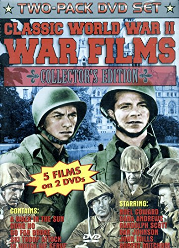 Classic World War II War Films, Collector's Edition: Go For Broke / In Which We Serve / A Walk in the Sun/Gung Ho/Ski Troop Attack
