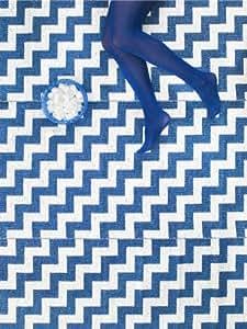 brita sweden teppiche moderner designer kunststoff outdoor teppich gunnel blau 150x200 cm. Black Bedroom Furniture Sets. Home Design Ideas