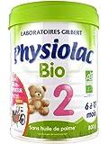 Physiolac - Lait Bio 2ème âge