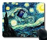 Tardis Doctor Who Peinture en caoutchouc durable Tapis de souris rectangulaire Tapis de souris personnalisé 220mm * * * * * * * * 180* * * * * * * * 3mm (22,9x 17,8cm)–ws82257