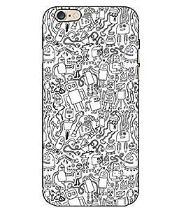 Astrode Printed Designer Back Case Cover For Apple iPhone 6