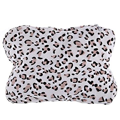 Haustiere Nest Pet Sprite Leopard Tattoo Knochen Pad Waschbar Haustier Katze Hund Mat Cat Nest Kennel, 50 X 34 X 10, (Leopard Knochen)