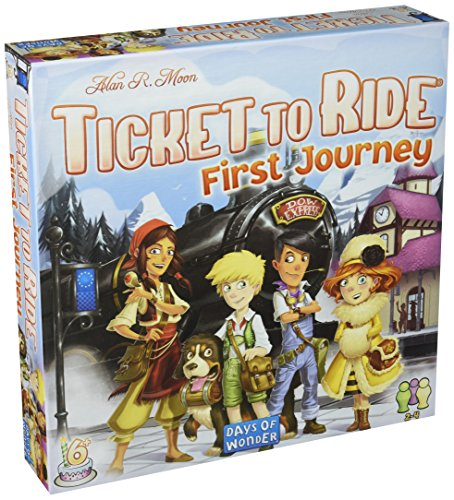 Days of Wonder dow720027 - Ticket to Ride Europa: First Journey