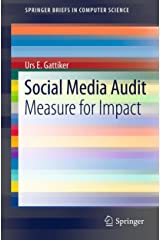 Social Media Audit: Measure for Impact (SpringerBriefs in Computer Science) (English Edition) Kindle Ausgabe