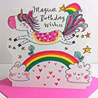 Rachel Ellen Magical Unicorn Birthday Wishes Card