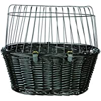 Trixie 2818 Fahrradkorb mit Gitter, 50 × 41 × 35 cm