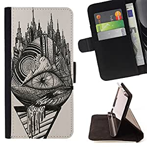 - Sweden flag - - Premium-PU-Leder-Mappen-Kasten mit Kartensteckpl?tze, Geldfach und abnehmbarem Trageriemen FOR Apple iPhone 4 4S 4G King case