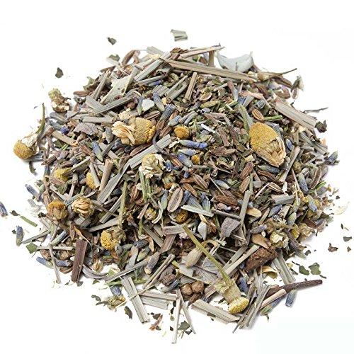Aromas de Té - Infusión A Granel/Infusión Natural Relajante Dulces Sueños, Infusión con Efecto Calmante Físico y Mental, Remedio Natural para el Estrés y Ansiedad, 50 gr