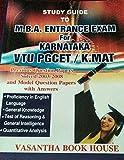 MBA entrance exam for Karnataka VTU PGCET
