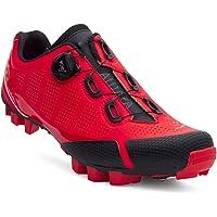 Spiuk Sportline ALDAPA, Scarpe MTB per Adulti, Unisex, Colore Rosso Opaco, Taglia 48
