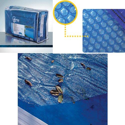 Gre cprov6100- Copertura isotermica per piscina autoportante ovale 610x366