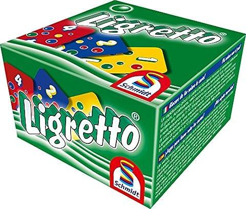 Schmidt Ligretto-Kartenspiel, grüne