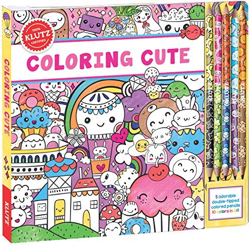 Coloring Cute (Klutz) por Editors of Klutz