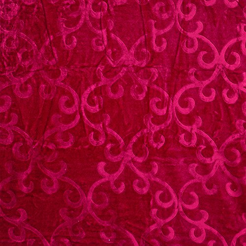 Spangle Floral Print Single Blankets