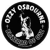 Ozzy Osbourne - Blizzard Of Ozz Patch (9cm Dia)