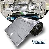 Motify-GT lingda 6,5 Fläche 10 mm Dämm Matte Bitumen Selbstklebend Car Hifi Auto Karosserie Tür Dämmung Akustische Dämpfung feuchtigkeitsfest Wasserdicht (100 x 60 cm)