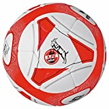 Erima 1. FC Köln Trainingsball Hybrid 2016/17 weiß-rot Fußball Größe 5 weiß/rot, standard