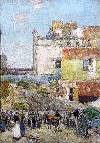 Das Museum Outlet-Marken, St. Pierre, Montmartre, 1888-Leinwanddruck Online kaufen (76,2x 101,6cm)