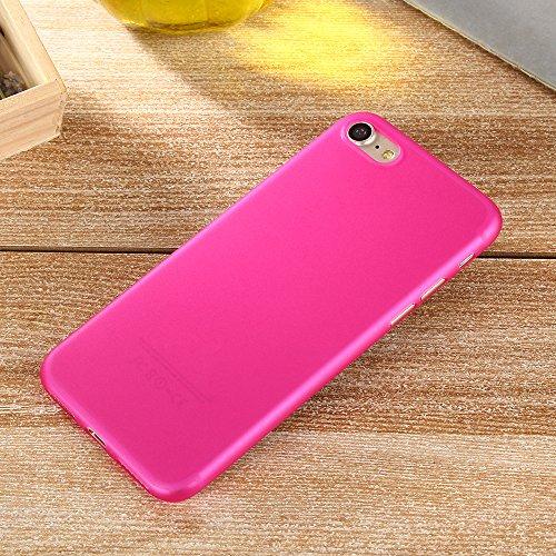 iPhone 7 Custodia, SW Ultra Sottile Caramelle di Colore Plastica Case Cover Giallo rosa