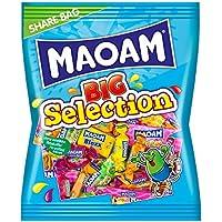 Haribo Maoam Big Selection, Set di 8, misto Kaubonbon, frutta e cola gusti, Confetti, 5.4kg