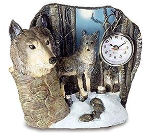 Katerina Prestige-Figura Reloj Lobo Broca, mo0382