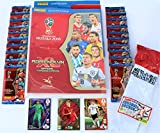 Panini Adrenalyn XL FIFA World Cup 2018 Sammelmappe + 20 Booster + limited Edition De Bruyne + 2 x Spezialkarte + Extra
