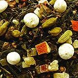 Grüntee aromatisiert Panforte di Siena 100g mit Weihnachtskuchen-Geschmack Nachfüllpack Lose
