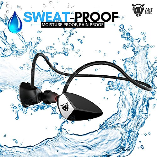 Ant Audio H27 Wireless Sports Earphone with Mic (Black)
