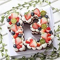 """Queta cake Mold, creativo Pet numero torta stampi decorazione torte utensili per torta di compleanno accessories-6"""" 8inch"""