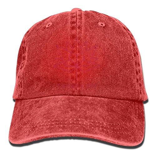 Hoswee Unisex Kappe/Baseballkappe, Happy 150th Birthday Canada Denim Jeanet Baseball Cap Adjustable Cricket Cap for Men Women