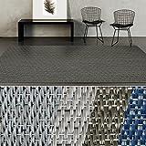 casa pura Indoor- & Outdoor-Teppich Mantua | Bodenbelag für Flur, Küche, Bad, Terrasse, Balkon, Garten | kunstvoll Gewebt mit Schimmer Optik | Viele Größen (180x1000 cm)