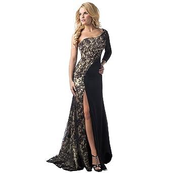Women Dresses, Women Formal Wedding Bridesmaid Long Ball Prom Gown Cocktail  Dress (S,