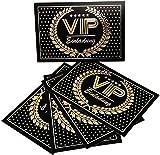 the lazy panda card company Set: 15 Einladungskarten Kindergeburtstag: VIP Geburtstagseinladungen Einladungen Geburtstag Kinder Mädchen oder Jungen (15 Karten mit 15 Briefumschlägen)