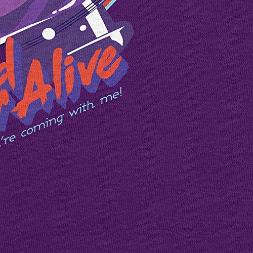 Planet Nerd - Dead or Alive - Herren T-Shirt Lila