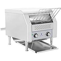 Royal Catering Toaster Grille-Pain Convoyeur Professionnel RCKT-1940 (7 niveaux de vitesse, 3 paramètres de cuisson, 2…
