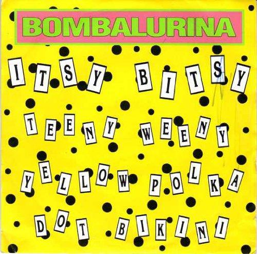 Bombalurina - Itsy Bitsy Teenie Weenie Yellow Polka Dot Bikini