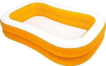 Intex Mandarine Swim Centre Pool, White And Orange-57181
